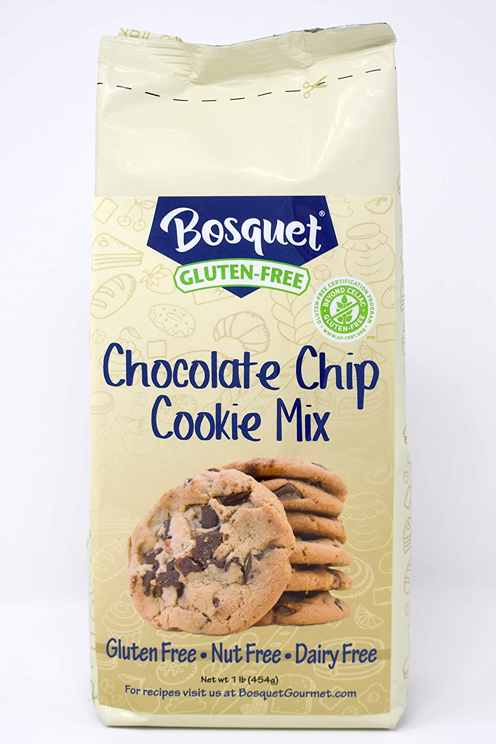 Bosquet Gluten-Free Chocolate Chip Mix count 1 SEAL limited product Cookie Don't miss the campaign
