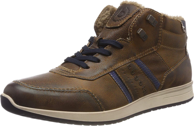 Bugatti Men Boots Brown, (Cognac) 311385503200-6300