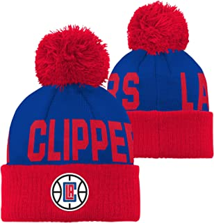Outerstuff NBA Toddler Cuffed Knit with Pom Hat