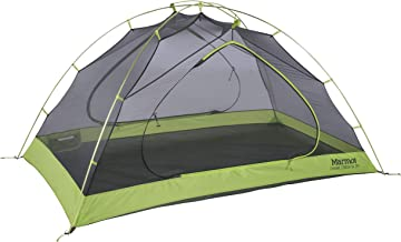 Marmot Crane Creek 2-Person Ultra Lightweight Backpacking and Camping Tent, Macaw Green/Crocodile