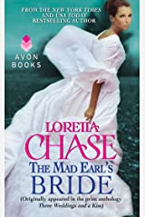 The Mad Earl's Bride: (Originally published in the print anthology THREE WEDDINGS AND A KISS) (Scoundrels Book 5) Kindle Edition