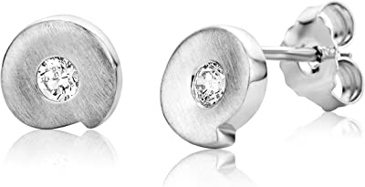 Miore - Boucles d'Oreilles Femme - Argent 925/1000 1.3 Gr