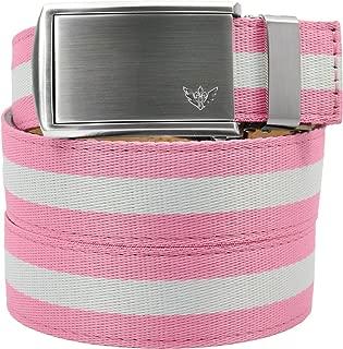 SlideBelts Women's Canvas Ratchet Belts - Sale - Custom Fit