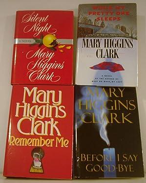Set of 4 Mary Higgins Clark Remember Me; B4 I Say Goodbye; While My Pretty One Sleeps; Silent Night
