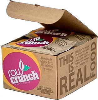 Raw Crunch Bars - Organic Cranberry Orange - Box of 12 Bars
