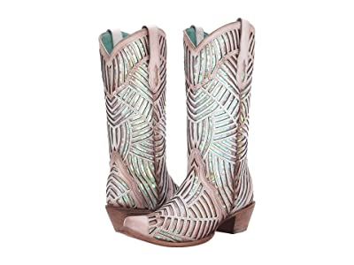 Corral Boots C3505 (White) Women