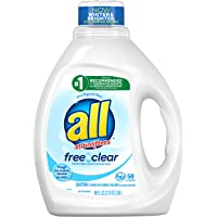 All Liquid Free Clear Liquid Laundry Detergent (88 Fl oz)