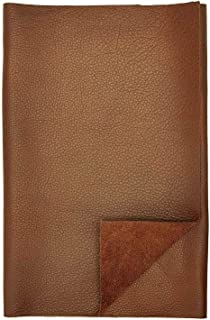 REED Leather HIDES - Cow Skins (12 X 24 Inches 2 Square Foot, Brown)