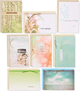 American Greetings Premium Sympathy Greeting Card Collection, 8-Count