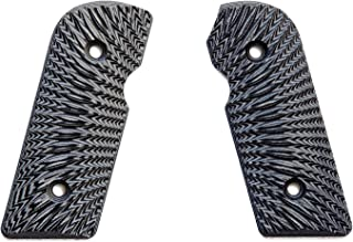 E Gun Grips H5-J6-4 Beautiful Custom G10 Tactical Pistol Grips for Kimber Solo Handguns, Chess Match