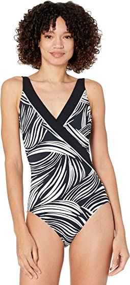 Surplice One-Piece (More Coverage) - Essential
