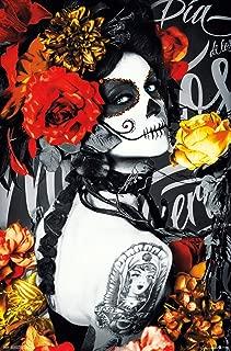 Trends International Día De Los Muertos - Tattoo Wall Poster, 22.375