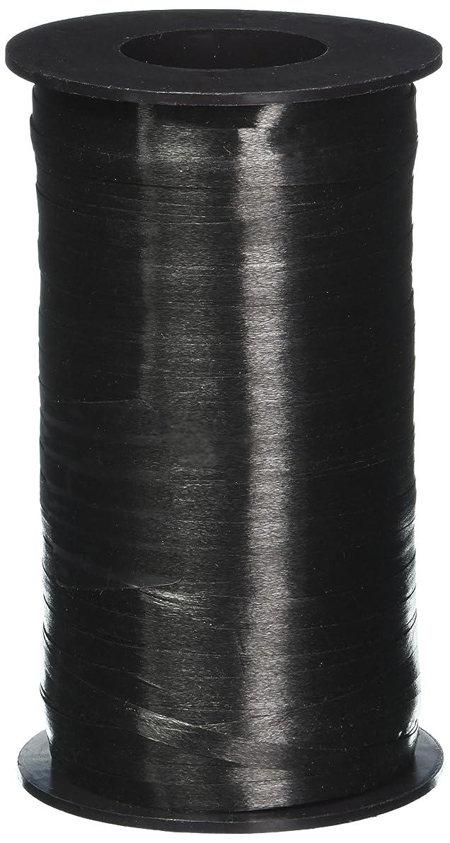 Berwick 3/16-Inch Wide by 500 Yard Spool Splendorette Uncrimped Curling Ribbon, Black