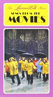 The Lawrence Welk Show - Songs from the Movies VHS