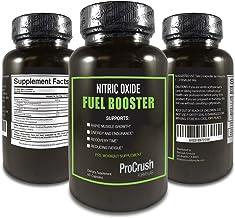 Nitric Oxide Supplement with L-Arginine - Natural N.O. Booster for Energy, Blood Flow, Endurance.