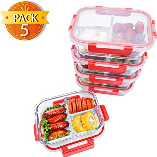 locking glass food storage containers