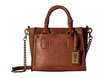 Frye Demi Mini Satchel (Whiskey Antique Soft Vintage) Satchel Handbags