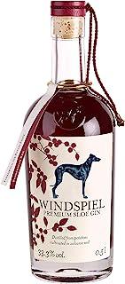 Windspiel Premium Sloe Gin  1 x 0.5 l  ausgezeichneter Premium Manufaktur Gin mit handverlesenen Schlehen aus der Eifel