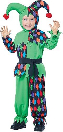 California Costumes Junior Jester Toddler Costume, Größe 4-6 by California Costumes