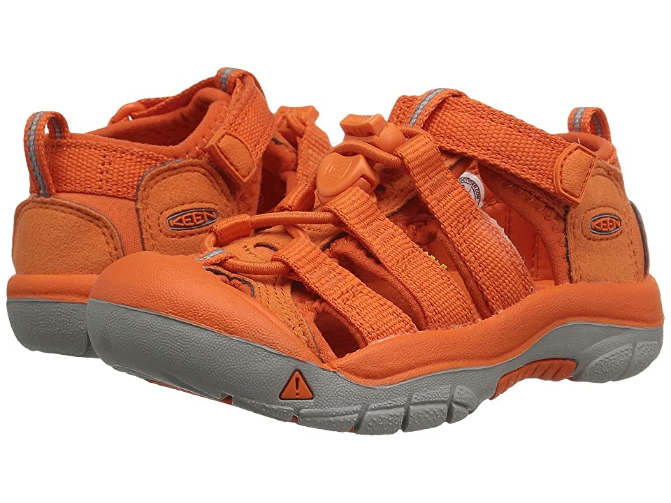 Keen Kids Newport H2 (Little Kid/Big Kid) (Golden Poppy) Girls Shoes