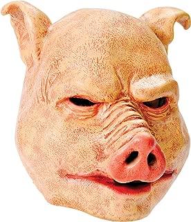 Bristol NoveltyPig Latex Mask, One Size