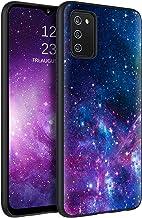 BENTOBEN Samsung A02s Case, Galaxy A02s Phone Case, Slim Fit Glow in The Dark Soft Flexible Bumper Protective Shockproof Girls Women Men Boy Cases Cover for Samsung Galaxy A02s 6.5 inch, Nebula/Galaxy