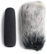 VideoMic Deadcat Windscreen and Foam Cover - Outdoor/Indoor Mic Wind Cover for Rode VideoMic, NTG2, NTG1 and WSVM Microphone by YOUSHARES (2 PACK)
