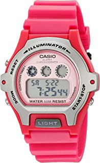 Women's LW-202H-4AVCF Illuminator Pink Resin Watch