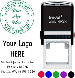 personalized logo rubber stamps