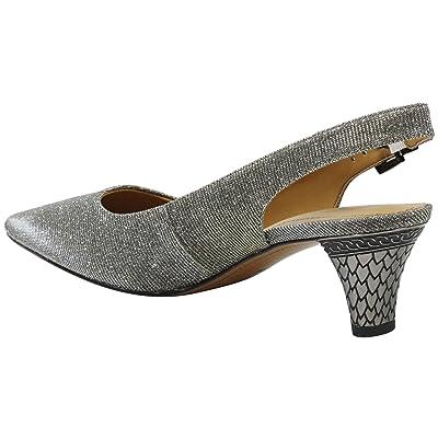 J. Renee Mayetta (Pewter Dance Glitter) High Heels