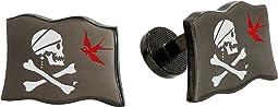 Cufflinks Inc. - Jack Sparrow Flag Cufflinks