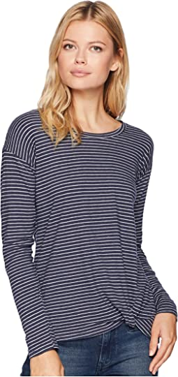 Long Sleeve Top with Waist Knot