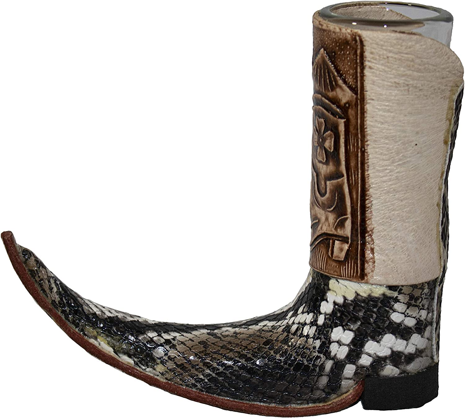 El Mexicanito Mexican Boot Shot Max 87% OFF Glass Mini Leather Max 60% OFF Tequila