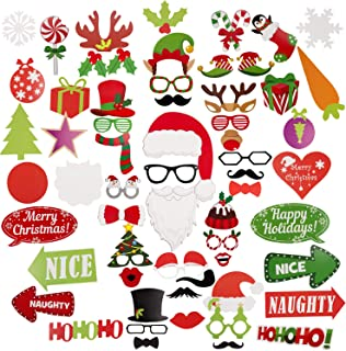 Best holiday photo booth props Reviews