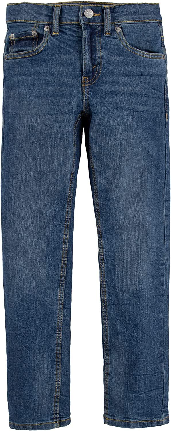Levi's Attention brand Boys' 502 Regular Performance Jeans Inventory cleanup selling sale Fit Taper