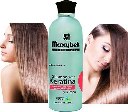 MAXIBELT-Keratina Shampoo 1000gr/ 33.3oz Shampoo protector de keratina