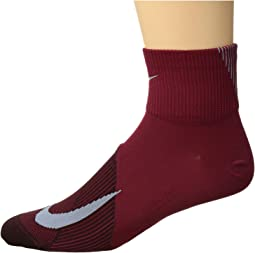 Elite Lightweight Quarter Running Socks