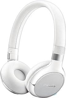 Philips SHB9250WT/00 - Auriculares de diadema cerrados con Bluetooth (inalámbricos, imán de 40 mm posterior, almohadillas suaves), blanco