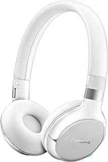 Philips SHB9350WT/00 Multipair BassBoost NFC Bluetooth 4.0, with Touch Control and 4 p. M Battery Life of White.