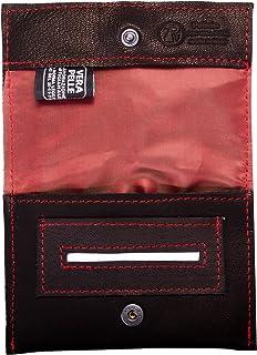 Pellein - Portatabacco in vera pelle Dixie - Astuccio porta tabacco, porta filtri, porta cartine e porta accendino. Handma...