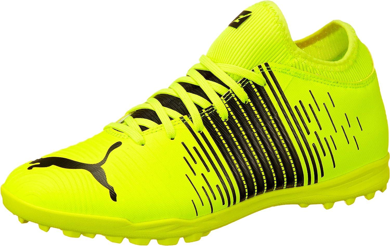 Puma Men's Future Z 4.1 TT Football Black Sale special 2021 autumn and winter new price Alert Whi Shoe Yellow