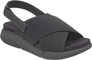 Easy Spirit Women's Taffy Slingback Sandals, Black, 6.5 W US