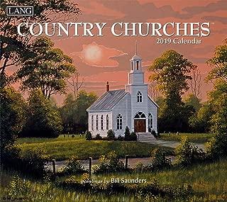 The LANG Companies Country Churches 2019 Wall Calendar (19991001904)