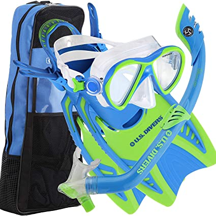 Details about  /NEW Kid/'s Junior Silicone Mask Dry Snorkel Boy Girl Snorkeling Diving Gear Set