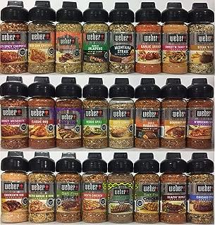 Weber Mega 24 Pack Variety Grilling Seasonings