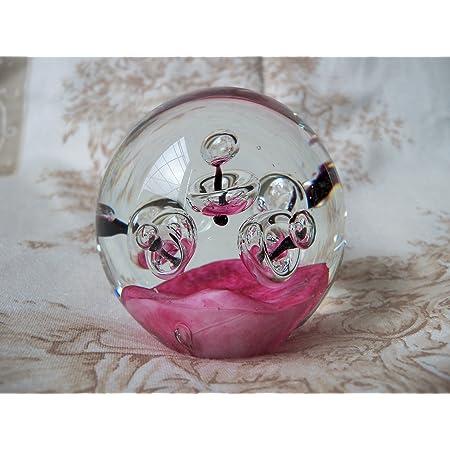 D/ésir-Boule boule de verre Presse-papier R/êve Boule 9,5cm d/écoration en verre