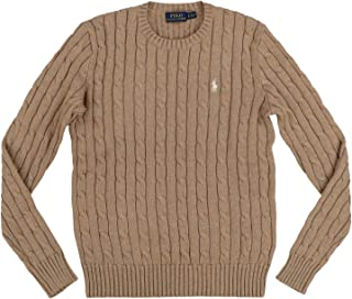 Ralph Lauren Polo Womens Cable Knit Crew Neck Sweater