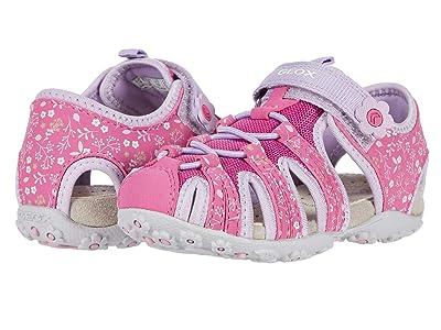 Geox Kids Roxanne 43 (Toddler/Little Kid) (Fuchsia/Violet) Girl
