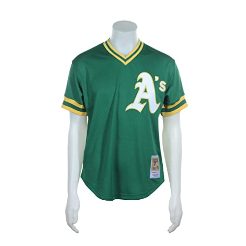 watch 4b3ed 0314d Mitchell Ness Baseball Jersey: Amazon.com