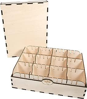 The Broken Token Longer, Harder Wood Card Case - 3 Row No Engraving